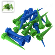 20pcs Automatic Watering Irrigation Spike Garden Plant Drip Water Cone Sprinkler
