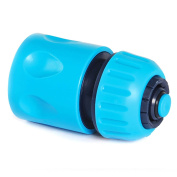 Quantum Garden - Blue Line - 1.3cm Quick Hose Connector With Stop