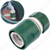 Female Hose Connector 1.3cm Water Stop Quick Release Garden Pipe Outdoor Tap Tube