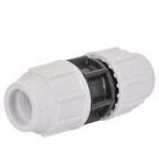 Plasson Mechanical Straight Compression Coupling 20mm X 20mm