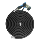 Focusairy 15m Expanding Flexible Garden Water Hose Pipe Triple Layer Latex