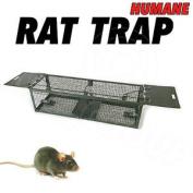Rat Trap Metal Rat Catcher - Humane Non Killing - Reusable Pest Control Trap