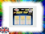Doff Mouse Killer Snap Traps For Mice Triple Pack Fast Effectve Mice Traps New