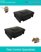 2 Heavy Duty Rat Bait Poison Stations, Safe Secure Tamper-proof And Lockable