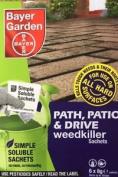 Bayer Path Patio & Drive Weedkiller 6x Sachets