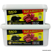 Raco Difenacoum Rodenticide Bait Blocks For Rat & Mouse Control - Various Sizes