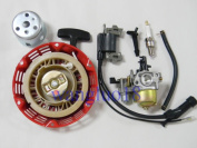 (wi)for Honda Gx110 Gx120 4hp Engines Carburettor Ignition Coil Recoil Starter
