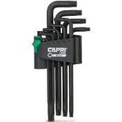 Capri Tools Torx Key Wrench Set, Long Arm, Premium S2 Steel