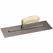 Marshalltown FT366 10cm - 1.3cm X 28cm Finishing Trowel with Curved Wood Handle