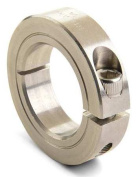 RULAND MANUFACTURING CL-14-SS Shaft Collar, Clamp, 1Pc, 2.2cm , 303 SS