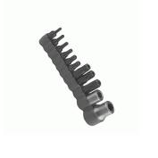 DURSTON MFG CO INC Tamper Resistnt BitT40 0.6cm hex 2.5cm long