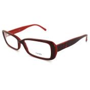 Fendi Frames Glasses 768 603 Bordeaux Inside Red