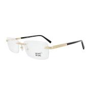 Mont Blanc Glasses Frames 0545 030 Shiny Gold