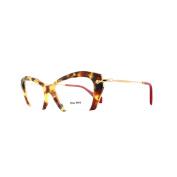 Miu Miu Glasses Frames 03ov Ua51o1 Medium Havana Womens 53mm
