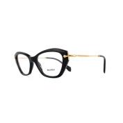 Miu Miu Glasses Frames 04lv 1ab1o1 Black Womens 52mm