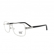 Mont Blanc Glasses Frames 0530 016 Shiny Palladium Black