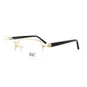 Mont Blanc Glasses Frames 0487 030 Bright Gold & Black