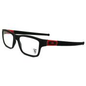 Oakley Glasses Frames Marshal 8034-09 Matt Black Ferrari Red
