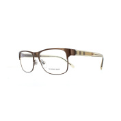 Burberry Glasses Frames 1289 1212 Brushed Brown Womens 55mm