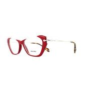 Miu Miu Glasses Frames 04ov Ua41o1 Red Womens 52mm