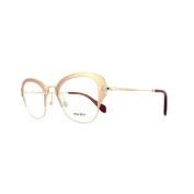 Miu Miu Glasses Frames 53ov Uf01o1 Matte Pink Womens 50mm