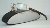 Porsche Design P 8199 C Matt Gold & Matt Brown Brille Eyeglasses Frames Size 59