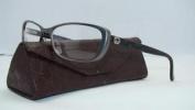 Gucci Gg 2883 Sbm Black & Dark Ruthenium Frames Glasses Eyeglasses Size 55