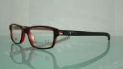 Tag Heuer 7602 001 Black & Red Sports Vision +orig Case Eyeglasses Frames Siz 52