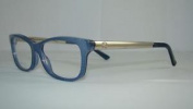 Gucci Gg 3678 4wu Blue & Silver + Gucci Case Frames Eyeglasses Size 52