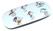 "Peanuts ""snoopy"" Children's Glasses Case, Colourful With Metal Hinge"