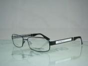 Emporio Armani Ea 9768 O8t Black & White Spectacles Eyeglasses Frames Size 54