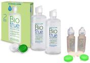 Bausch + Lomb Biotrue 2x300ml + 2x60ml Multipurpose Contact Len Solution
