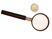 Classic Handheld 4.5x Magnifying Glass High Quality Reading Magnifier Lens