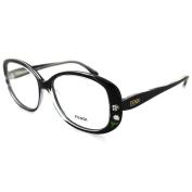 Fendi Frames Glasses 815 001 Black Crystal