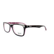 Ray-ban Glasses Frames 5228 2126 Top Brown On Opal Pink Clear 50mm