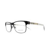 Burberry Glasses Frames 1289 1007 Matte Black Womens 55mm