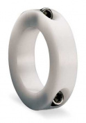 DAYTON 1F608 Shaft Collar, Clamp, 2Pc, 3.2cm , Plastic