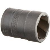 SK Hand Tool 19mm - 3/4-Inch Standard Drive Socket Turbo, 3/8-Inch 824