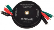 Sg Tool Aid 22840 Magnetic Retractable Test Leads Reel-3 Leads X 3m