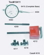 CENTRAL TOOLS INC CE4209 Indicator Rod, TWO DIA 0.6cm & 0.8cm