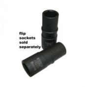 DURSTON MFG CO INC VIFS1 FLIP SOCKET 1.9cm & 2.1cm HEX THIN WALL