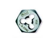 IRWIN INDUSTRIAL TOOLS Rethread Die 2.2cm -14 NF,HCS (N/S)-Bulk