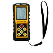 Pyle 90m Handheld Laser Distance Metre with Calculation, Tool Backlit LCD Display, Direct / Indirect, Volume and Area Measuring