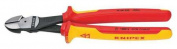 Knipex 25cm High Leverage Diagonal Cutter, Insulated, 74 08 250 SBA