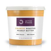 Natural Roasted Peanut Butter Crunchy Tub, 1 Kg
