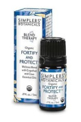 Simplers Botanicals Fortify And Protect Organic Essential Oil Blend 5ml Grapefru