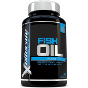 Omega 3 Fish Oil 1000mg– 365 Softgels - Uk Manufactured - High Strength Omega