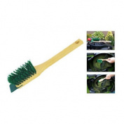 Lawnmower Wire Brush With Scraper For Lawn Mower And Blades Cleaning Tool