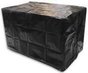 Woodside Black Waterproof Outdoor Garden Large Barbecue/bbq Cover