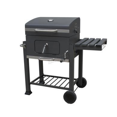 Foxhunter Charcoal Bbq Grill Barbecue Smoker Garden Portable Outdoor Cbg01 Grey